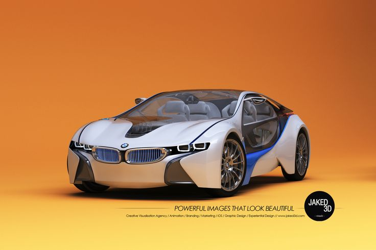 3D Automotive Design - Bmw i8 Concept Jaked3d http://jaked3d.com/