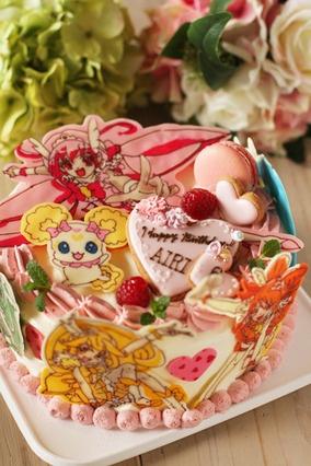 てんこ盛りプリキュアのお誕生日ケーキ|レシピブログ