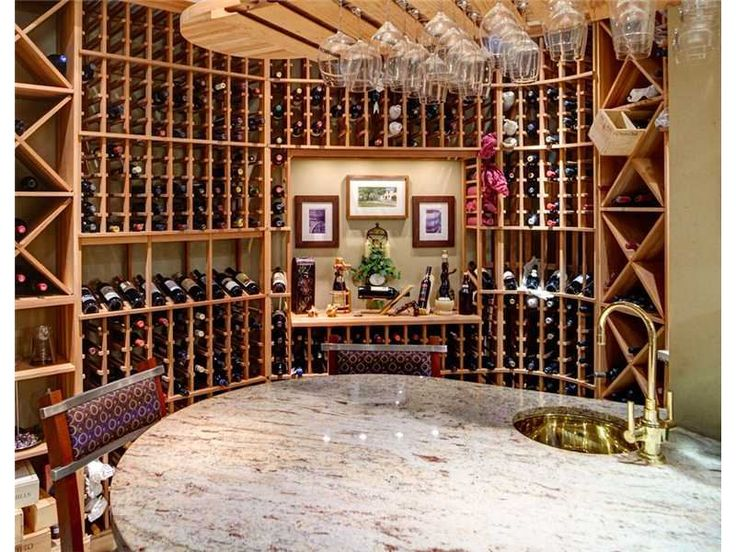 This wine room is fantastic! The hanging wine glasses are the perfect extra touch.   207 Bailey Mt Washington, PA