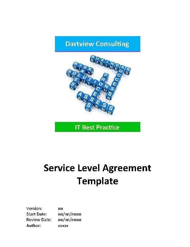 25+ unique Service level agreement ideas on Pinterest How to - business service level agreement