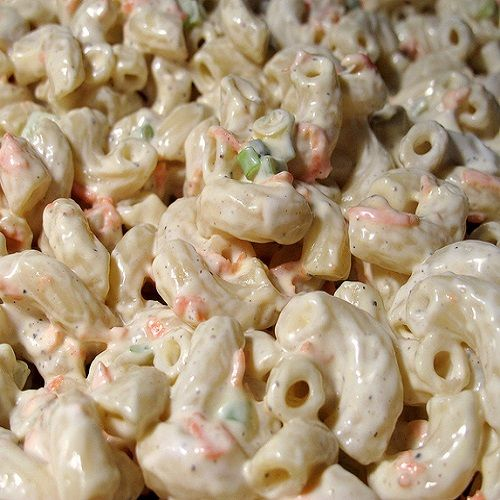Homemade Hawaiian Macaroni Salad. This is the perfect go-to side dish anytime of the year. It is everyone's favorite pasta salad recipe.
