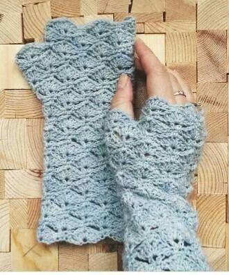 Vingerloze Handschoenen Handbeenwarmers Hakenbreien Pinterest