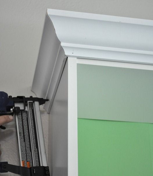 Centsational Girl » Blog Archive » Playroom: The Project Details: adding trim to ikea bookcase