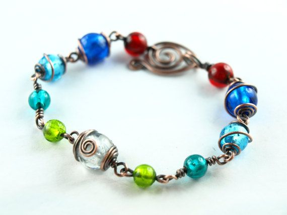 Best 20 KlimmBimm.de - Armbänder wire work images on Pinterest ...