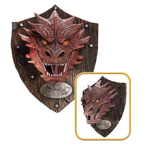 The Hobbit Smaug Head Mounted Trophy $149.99