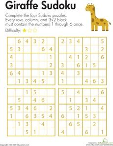 Giraffe Sudoku