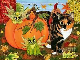 Image result for cute halloween cats kitties