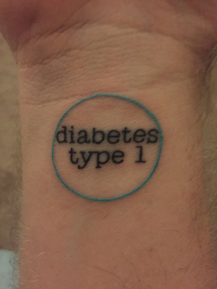 New ink for Diabetes Awareness Month and my very own medic alert bracelet. #bluenovember #diabetes