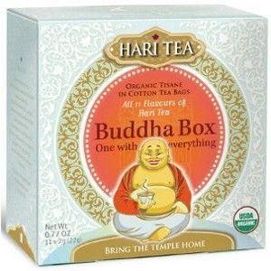 Buddha Box Hari Tea organic, 11 teabags