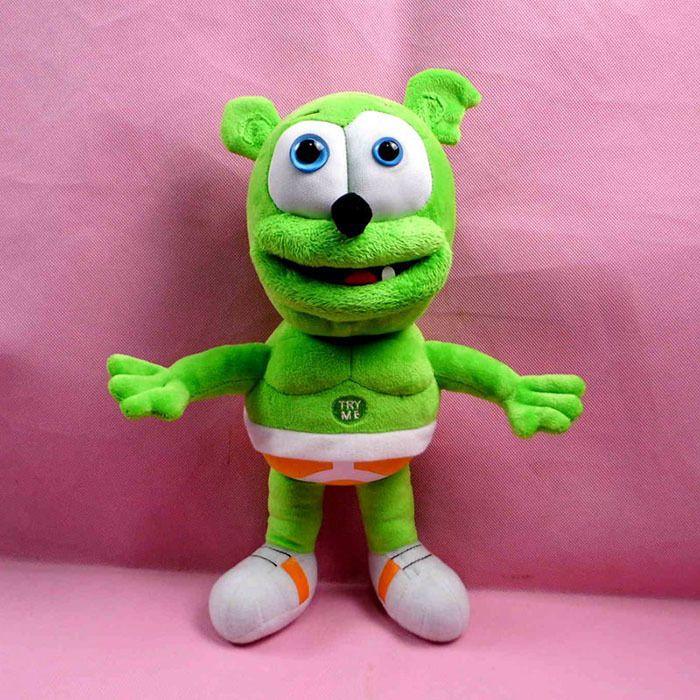 Hot Sale 2015 Gummy Bear 30cm Voice Pet Funny Lovely Toys