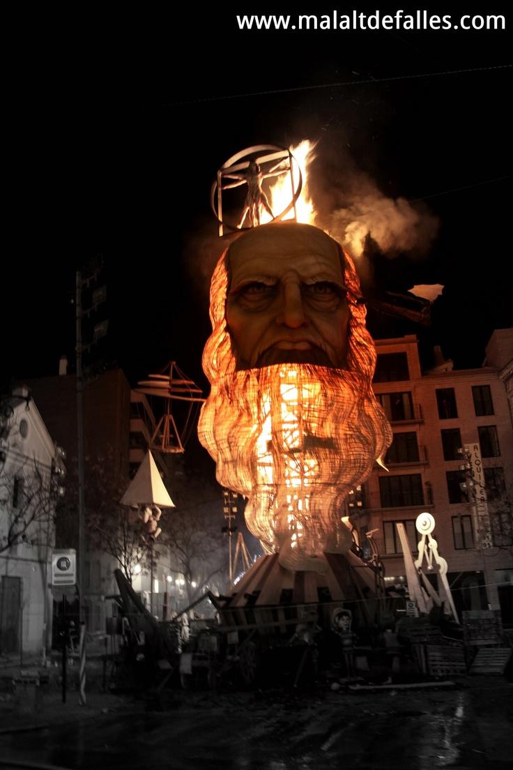 Leonardo Da Vinci burning!     http://youtu.be/FISoTGLnjHg