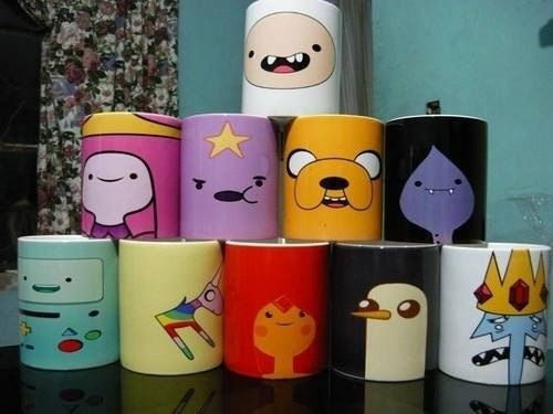 adventure time mugs
