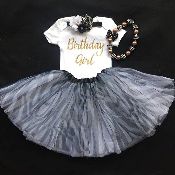 Firstbirthday/ tutu/zebra tutu set /photo prop/ 1st birthday