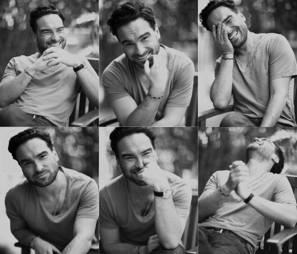 Johnny Galecki. I'm starting to see a trend between all the famous people I find attractive....