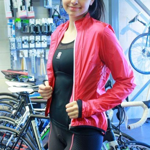 Veste de vélo coupe-vent pour femme