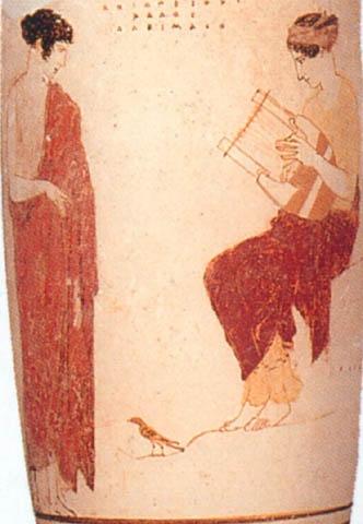 Detail White Ground Technique Ancient Greek Vase Painting Greek Vases Pinterest Vase