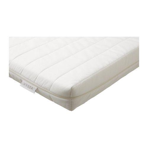 VYSSA SNOSA Mattress for cot, white white 60x120 cm