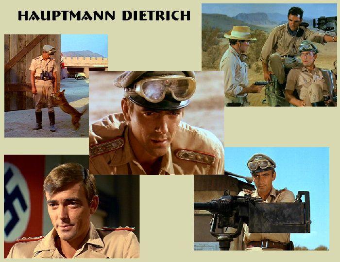 "Hans Gudegast in ""The Rat Patrol"" AKA Eric Braeden. Braeden played the antagonist, Captain Hans Dietrick, on the WWII hit TV series, The Rat Patrol (1966-1968)."