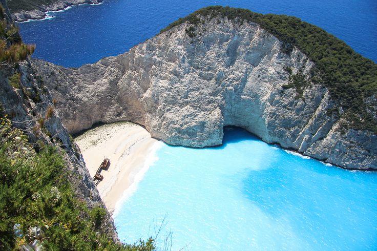 Navagio Beach, Zakynthos,                                         I've been there!