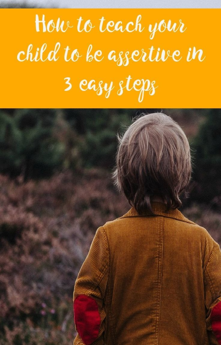 How to teach your child to be assertive in 3 easy steps. Emotionally healthy kids ARE assertive and teaching this is such an important aspect of positive parenting