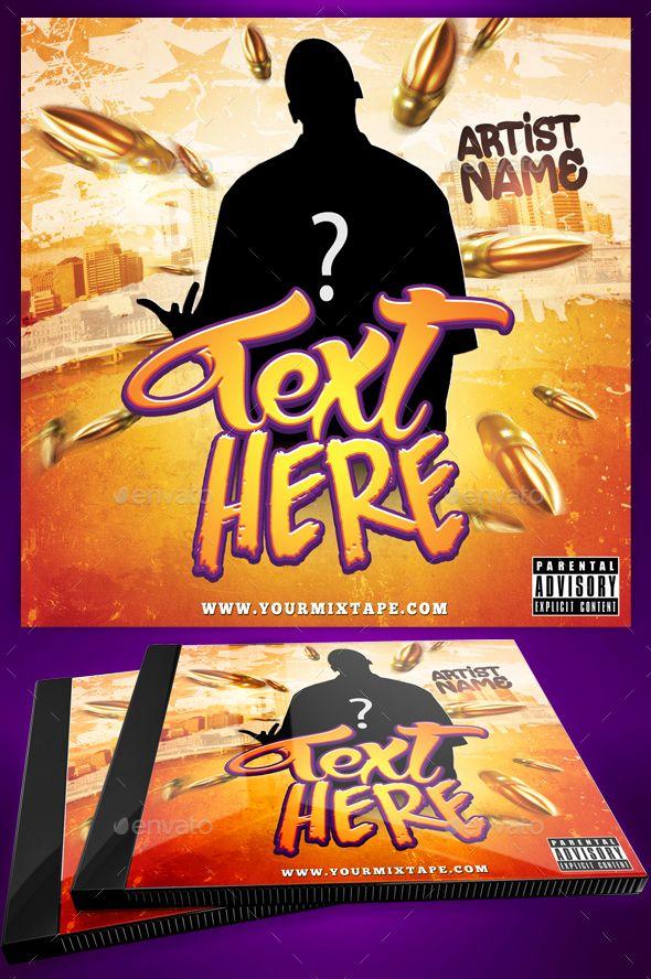 Hip Hop Mixtape / CD Cover Template