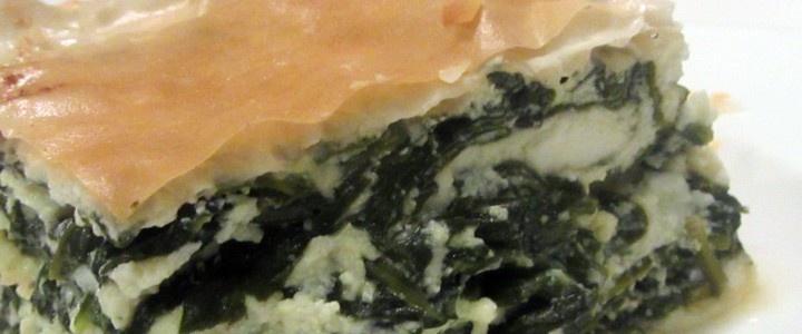 Spanikopita: Torta rustica di spinaci e formaggio | CipolleRosse.it