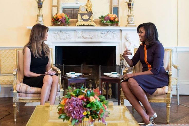 On Thursday, President Barack Obama welcomedPresident-elect Donald Trump to the White House. The conversation, which Trump expected to be15 minutes, lasted for an hour and a half. And while POTUS and PEOTUS talked in the Oval Office about the transition of power, domestic issues, and international