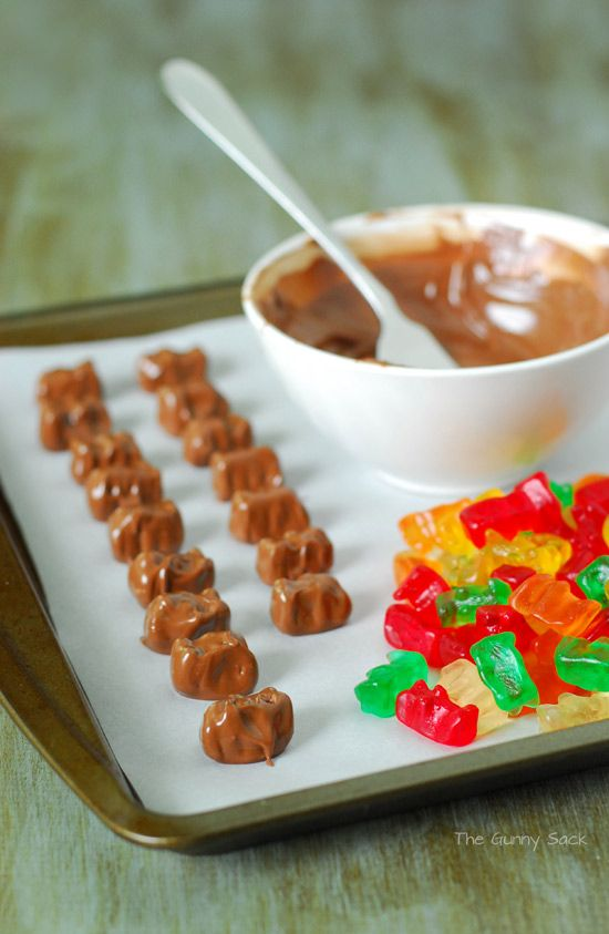 Chocolate Dipped Gummy Bear from TheGunnySack.com