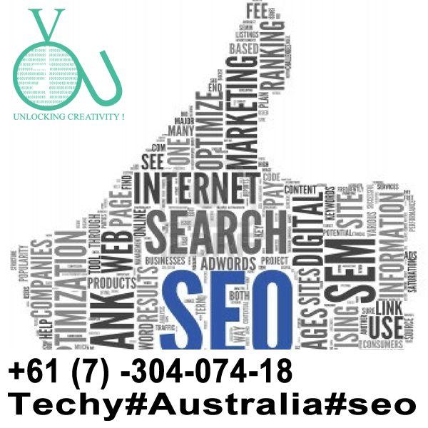Organic White SEO in Australia Techy-Australia- +61-(7)-30-40-7418