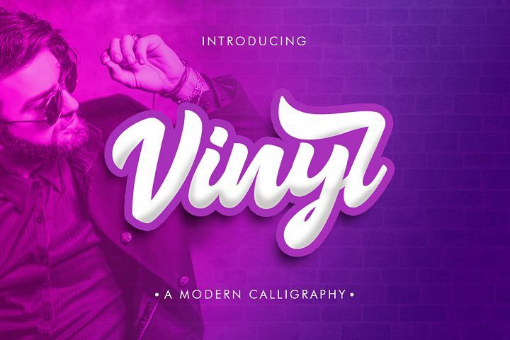 Vinyl Script Just $5.00 for a limited time. #ad.