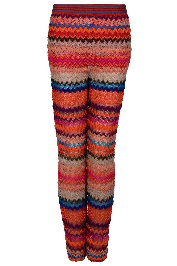 ... in missoni aden crochet pants Rihanna in Missoni Aden Crochet Pants