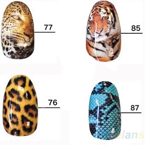 Wild Style Water transfer Nail Full Wrap Decal Nail Art Decoration Sticker Tips  $0,40 (free shipping)
