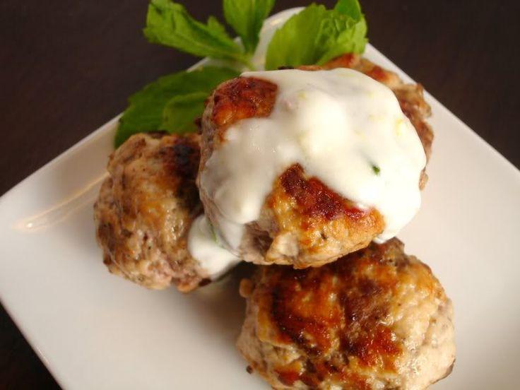 Lamb Meatballs With Lemon-Cumin Yogurt Recipe — Dishmaps