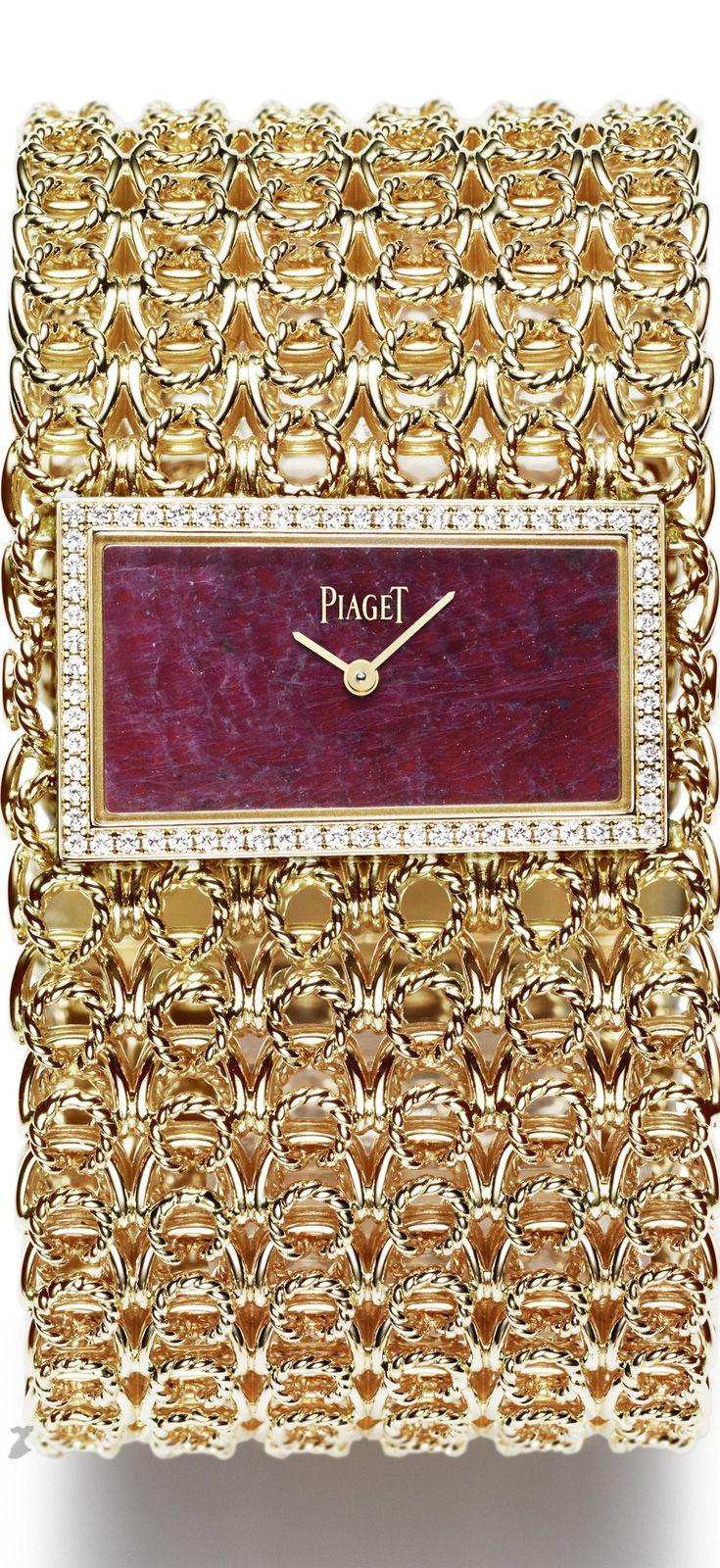 Rosamaria G Frangini | High Whatch Jewellery | #Piaget Ruby & Diamonds Watch