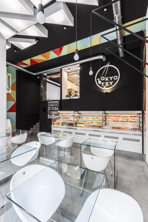 mode:lina architekci TOKYO TEY Sushi Store - Diseño de bares