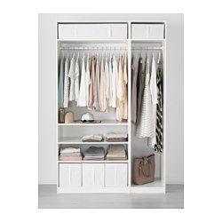 IKEA - SKUBB, 収納ケース, ホワイト, , ベッドリネンや枕、シーツなどを入れて、ベッドの下に収納できます持ち手が付いているので、出し入れが簡単です衣類をホコリから守ります使わないときは、底のファスナーを開いて平たくたためます