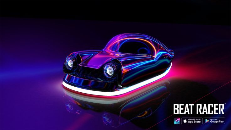 Available Now! on iOS and Android www.BeatRacer.net