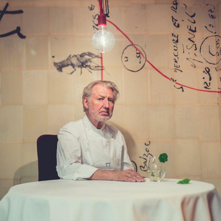 """Pierre Gagnaire : """"Aujourd'hui, les chefs sont plus intelligents et leur cuisine plus délicate""""  © Yann Rabanier"""