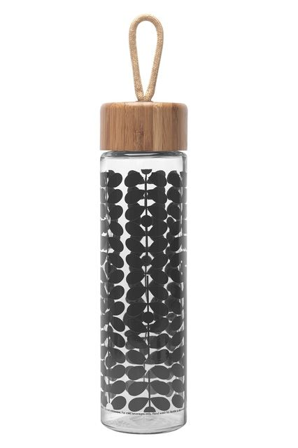 The Lazy Girl's Guide To Holiday Gifts #refinery29  http://www.refinery29.com/easy-holiday-gifts#slide10  Glass meets bamboo meets Orla Kiely's signature floral pattern; you've got one luxe water bottle anyone would be thrilled to unwrap. You may have gone to Target for laundry detergent, but we wouldn't blame you if you emerged with a few of these beauties — for friends and for yourself.