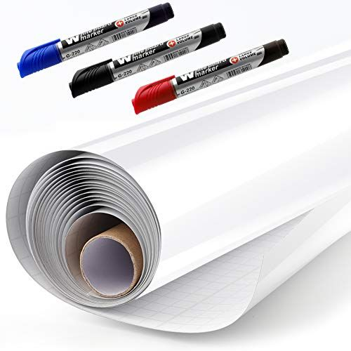 Nuwallpaper Dry Erase Peel Stick Paper Strippable Roll Wallpaper Covers 30 75 Sq Ft Nu2497 The Home Depot Nuwallpaper Peel And Stick Wallpaper Dry Erase