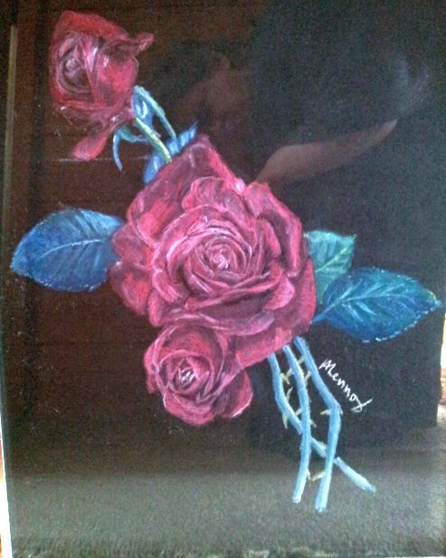 Red Rose by Heather Lennox