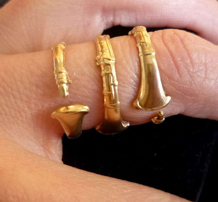 Clarinet Ring by Kimona on Etsy.   i want this too!!!