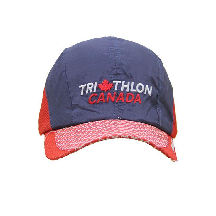Leisure sports caps mesh running cap micro fibre hat