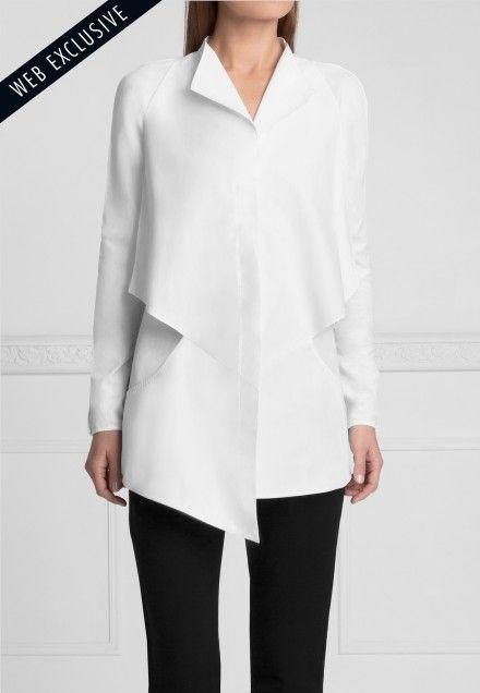 Paper Shirt | Anne Fontaine White Shirts