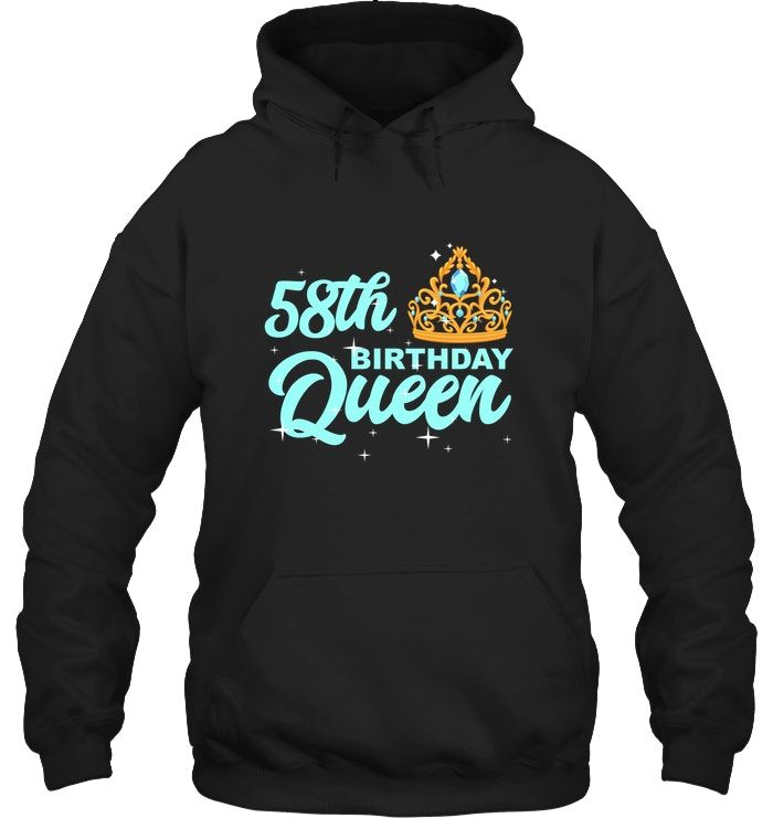 Birthday Queen Pullover Hoodie