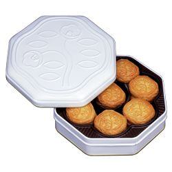 "HANATSUBAKI biscuits SHIROKAN ""Shiseido-parlor"" Ginza 花椿ビスケット白缶 資生堂パーラー #gift #present"