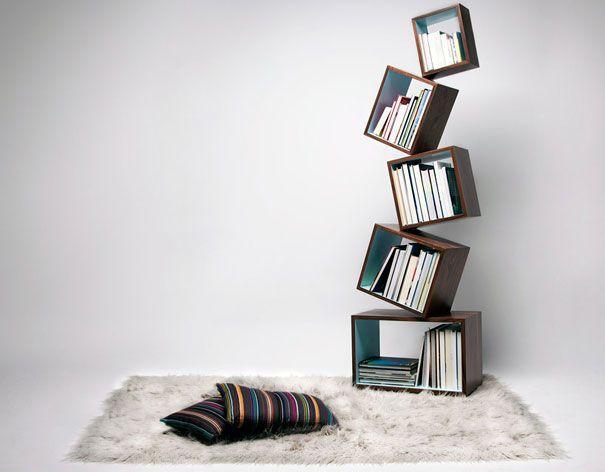 Bella!! - 33 Creative Bookshelf Designs | Bored Panda