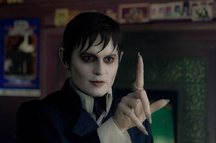 """Johnny Depp as Barnabas Collins (""""Dark Shadows"""")."""