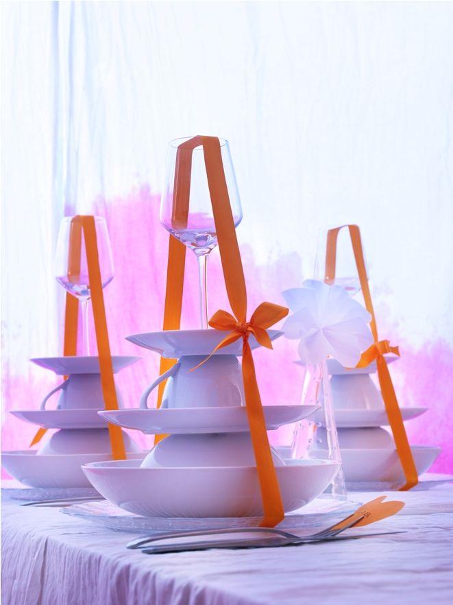 Εκπλήξτε τους καλεσμένους σας δημιουργώντας έναν πύργο με τα σερβίτσια τους!
