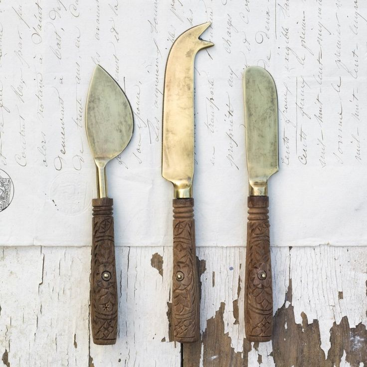 Eti Cheese Knives (set of 3)
